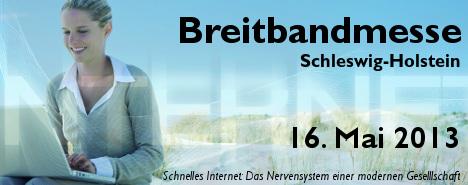 Breitbandmesse Schleswig-Holstein - 16. Mai 2013 - Banner mittel